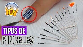 Download Tipos de Pinceles Para Uñas ¿Como Usarlos? Video