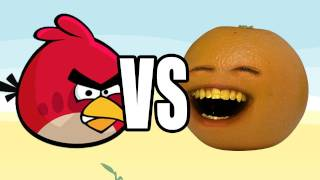 Download Annoying Orange vs Angry Birds Video