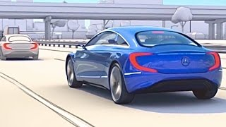 Download How Vehicle-to-vehicle (V2V) Will Save Your Life / Self Driving Car Car2X CarToCar ADAS CARJAM TV HD Video