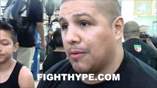 Download FERNANDO VARGAS EXPLAINS WHY MIKEY GARCIA WOULD GIVE FLOYD MAYWEATHER A GREAT FIGHT Video
