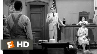 Download To Kill a Mockingbird (4/10) Movie CLIP - Atticus Cross-Examines Mayella (1962) HD Video