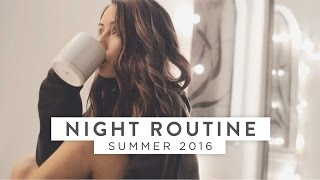 Download My REAL Summer Night Routine! 2016 Video