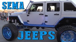 Download JEEPS OF SEMA 2016 Video
