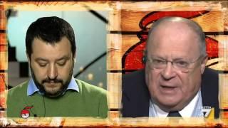 Download Scontro tra Salvini e Cazzola sulla riforma Fornero Video