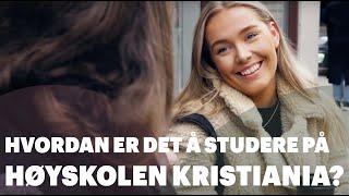Download Hvordan er det å studere på Høyskolen Kristiania? Video