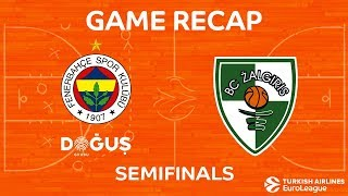 Download Highlights: Fenerbahce Dogus Istanbul - Zalgiris Kaunas Video