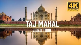 Download Taj Mahal, India Video Tour in 4K Video