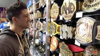 Download Check out the WrestleMania Superstore with TJ Perkins Video