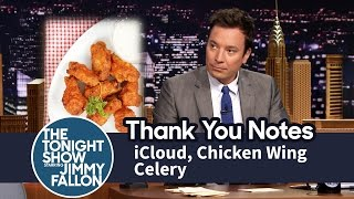 Download Thank You Notes: iCloud, Chicken Wing Celery Video