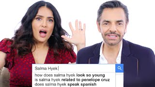 Download Salma Hayek & Eugenio Derbez Answer the Web's Most Searched Questions | WIRED Video