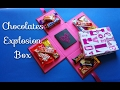 Download Chocolate Explosion Box Tutorial - Crafts n' Creations - كيف تصنع صندوق المفاجآت الملئ بالشيكولاته Video