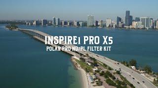 Download In Depth: Polar Pro Filter Kits for DJI INSPIRE1 PRO X5 Video