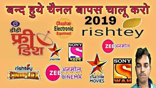 Download DD free Dish me channel Kaise Laye . Chauhan electronic experiment . Video