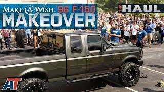 Download Make-A-Wish F150 Build - 1996 5.0L F150 Gets A 4″ Lift Kit, 34″ Tires & $20,000 In Other Parts! Video