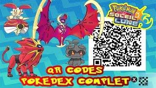 Download TOUS LES QR CODES = POKEDEX COMPLET ALOLA POKEMON SOLEIL & LUNE! Video