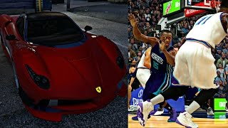 Download FREDDY SPENDS 2 MILLION DOLLARS ON A NEW FIRE RED FERRARI! KEMBA ANKLES EXPOSED! - NBA 2K17 MyCAREER Video