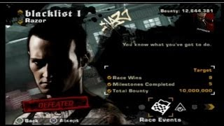 Download Need for Speed: Most Wanted (2005) on PS3 Razor Blacklist #1 Defeated Video