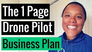 Download How to Write a One-Page Business Plan for your Drone Company Video