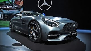 Download 2017 Mercedes-AMG GT C Roadster, Mercedes-AMG E63 First Look - 2016 LA Auto Show Video