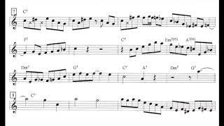Download Scott Hamilton plays :Blues Wales (Solo Transcription) Video