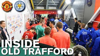 Download Behind The Scenes Manchester United v Leicester City   Inside Old Trafford   Manchester United Video