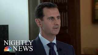 Download Syrian President Bashar Al-Assad: Exclusive Interview   NBC Nightly News Video