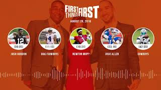 Download First Things First audio podcast(8.20.18) Cris Carter, Nick Wright, Jenna Wolfe | FIRST THINGS FIRST Video