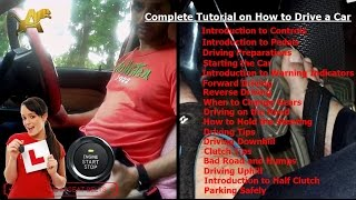 Download How to drive a car ( Do Half Clutch and When to Change Gears ) Video