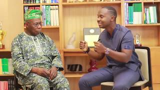 Download The King of Talk speaks with President Obasanjo (part 1) Video