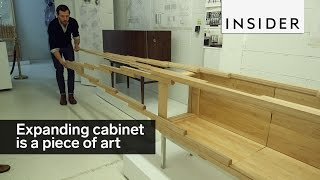 Download This expanding cabinet is a piece of art Video