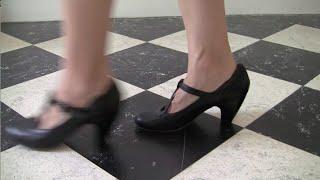 Download ASMR High Heels on Tile Floors Video