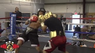Download (DBN SPAR WARS) BEST SPARRING BY HOT PROSPECT JR MIDDLEWEIGHT ″MONEY″ POWELL IV Video