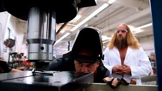Download Diesel Brothers Take The Hydraulic Press To Some Super Strong Bolts Video