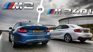 Download BMW M2 vs M240i ACCELERATION Sound & DRAG RACE by AutoTopNL Video