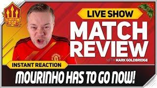 Download Goldbridge   MOURINHO OUT NOW! Liverpool 3-1 Manchester United Match Reaction Video