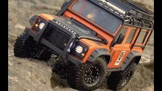 Download Traxxas TRX-4 Defender | Adventure Edition #6 | Rock Trails With Pit Bull Video