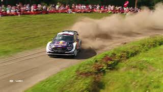 Download WRC - Neste Rally Finland 2018 / M-Sport Ford WRT: Aerial Clip Video