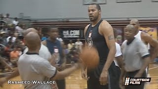 Download 40-Year-Old Rasheed Wallace STILL Has Game (16 Year NBA Veteran) Video