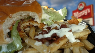 Download Wendy's Asiago Ranch SPICY Chicken Club and BACON Ranch Fries Video