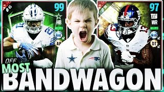 Download ALL BANDWAGON PLAYERS TEAM! MADDEN 17 SQUAD BUILDER Video
