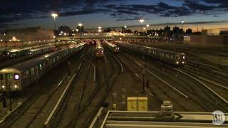 Download Time Lapse: Corona Subway Yard Video