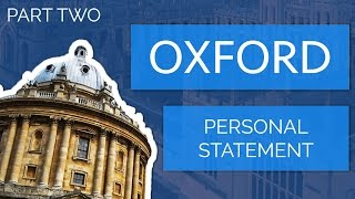 Download [Part 2] Apply to Oxford University: How to Write a Personal Statement Video