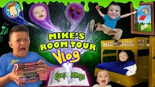 Download HOUSE TOUR 2.0: Mike's Room Tour gives us Goosebumps + Shawn Gets Sneaky! (FUNnel Vision Vlog) Video