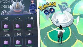 Download ¡¡¡6 DITTOS a por GIMNASIOS!!! Pokémon GO | 6 DITTO BATTLE GYM | Keibron Gamer Video