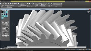 Download Beginner Tutorial 7 - Autodesk AutoCAD 2016 - Designing a Herringbone Gear Video