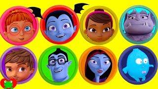 Download Disney Jr. Vampirina Play Doh Surprises Learn Colors Video