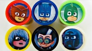 Download PJ MASKS with Owlette, Catboy, Gekko, Romeo Playdoh Toy Surprises Video