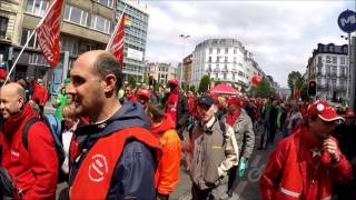 Download Manifestation nationale Bruxelles le 24 mai 2016 Video