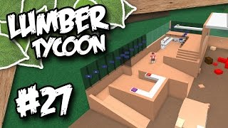 Download Lumber Tycoon #27 - BUILDING A STORAGE BARN (Roblox Lumber Tycoon) Video