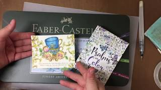 Download Psalms in color - coloring bible verses # 3 Faber Castell Video
